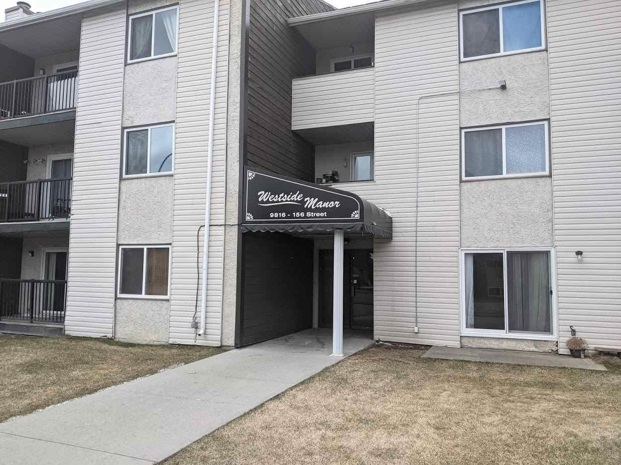 Main Photo: 311 9816 156 Street in Edmonton: Zone 22 Condo for sale : MLS®# E4238911