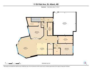 Photo 36: 11 ST VITAL Avenue: St. Albert House Half Duplex for sale : MLS®# E4233836