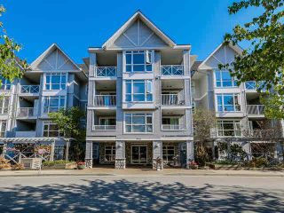 """Photo 1: 408 3142 ST JOHNS Street in Port Moody: Port Moody Centre Condo for sale in """"SONRISA IN PORT MOODY"""" : MLS®# R2099890"""