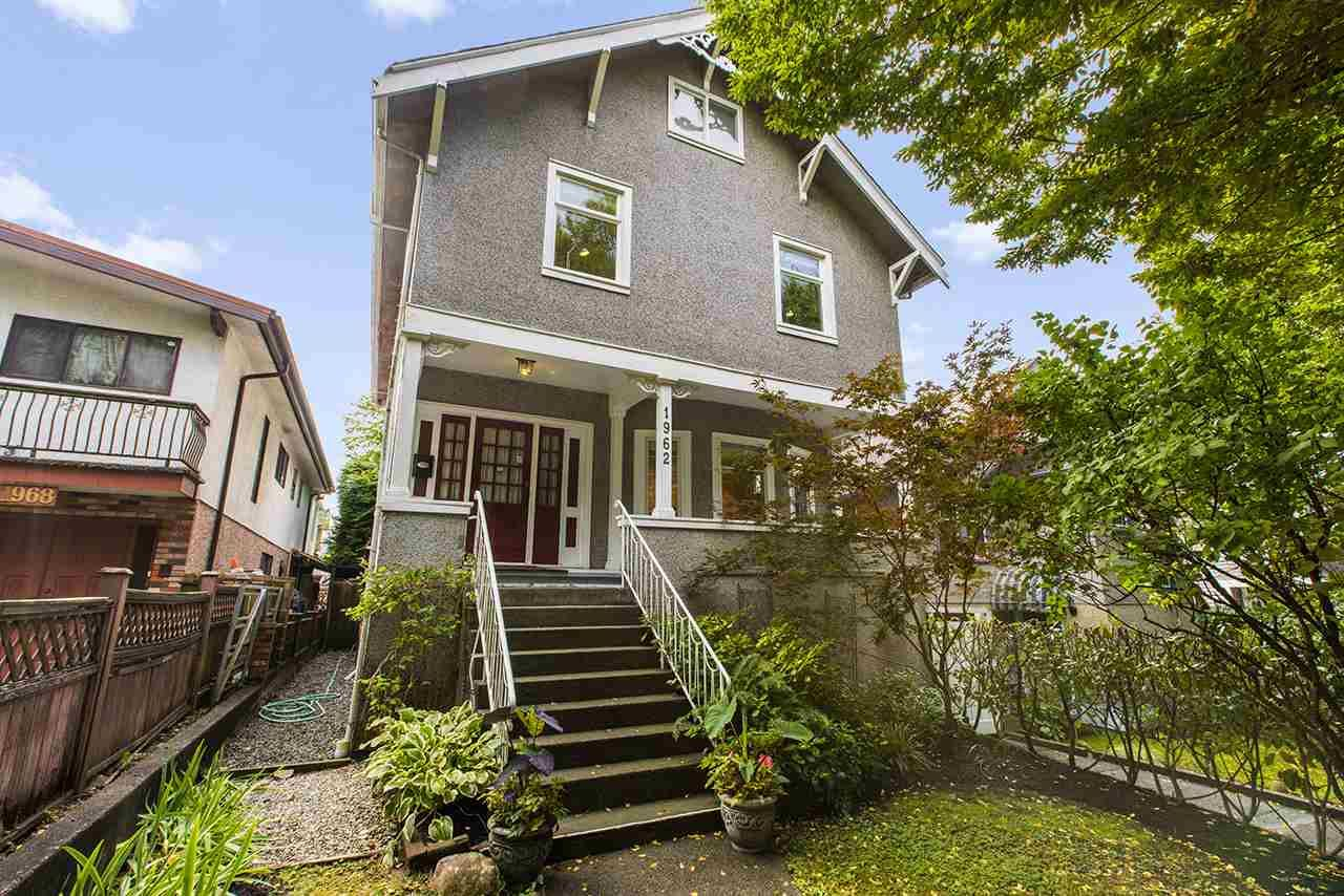 Main Photo: 1962 E 2ND AVENUE in Vancouver: Grandview Woodland House for sale (Vancouver East)  : MLS®# R2502754