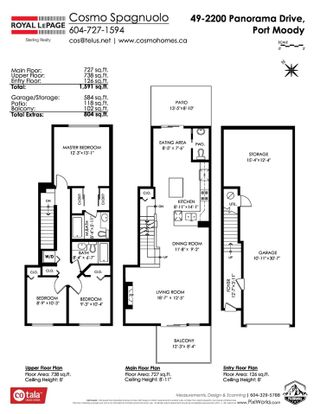 """Photo 20: 49 2200 PANORAMA Drive in Port Moody: Heritage Woods PM Townhouse for sale in """"THE QUEST"""" : MLS®# R2465760"""
