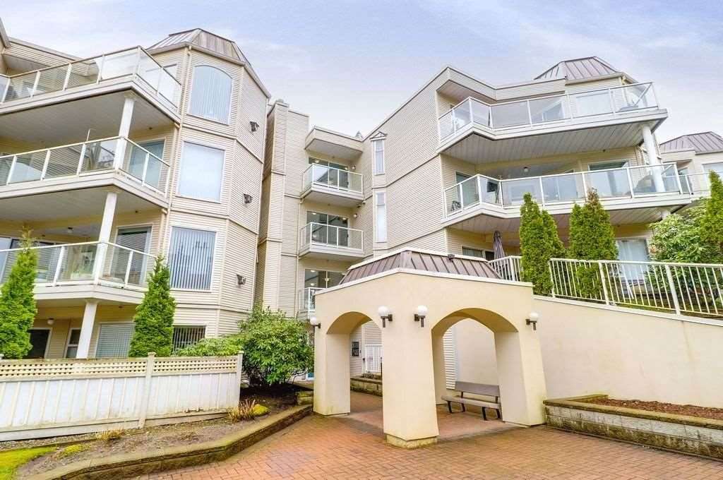 """Main Photo: 310 1220 LASALLE Place in Coquitlam: Canyon Springs Condo for sale in """"MOUNTAINSIDE PLACE"""" : MLS®# R2326108"""