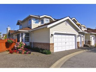 """Photo 1: 6 9163 FLEETWOOD Way in Surrey: Fleetwood Tynehead Townhouse for sale in """"Fountains of Guildford"""" : MLS®# F1323715"""