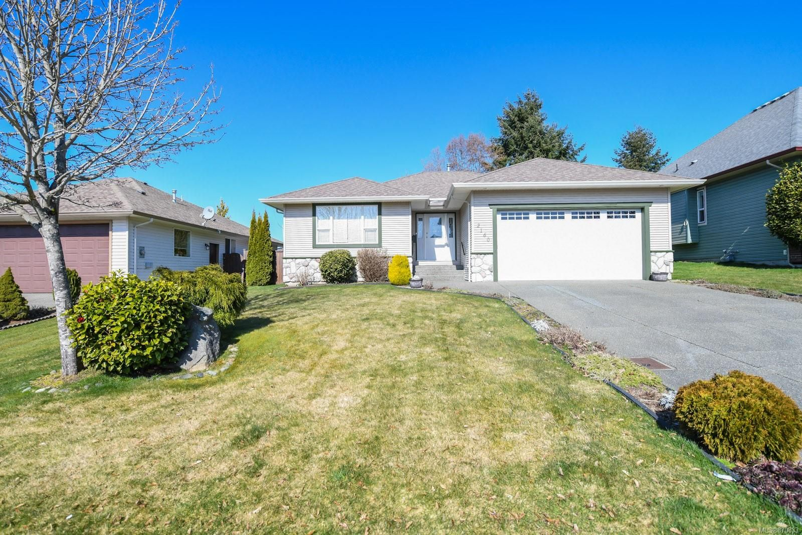 Main Photo: 2160 Stirling Cres in : CV Courtenay East House for sale (Comox Valley)  : MLS®# 870833