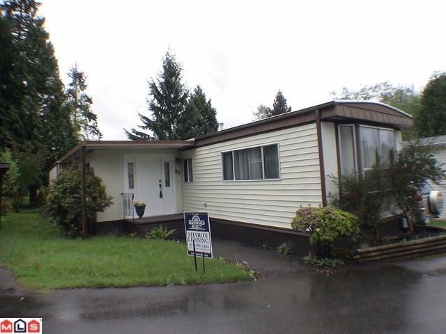 """Main Photo: 93 24330 FRASER Highway in Langley: Otter District Manufactured Home for sale in """"Langley Grove Estates"""" : MLS®# F1128799"""