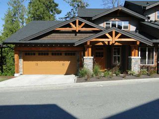 "Photo 1: 71 24185 106B Avenue in Maple Ridge: Albion 1/2 Duplex for sale in ""TRAILS EDGE"" : MLS®# V908664"