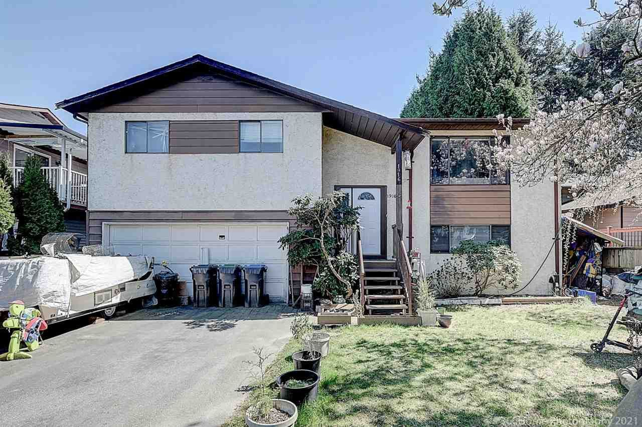 Main Photo: 1916 HOMFELD Place in Port Coquitlam: Lower Mary Hill House for sale : MLS®# R2568103