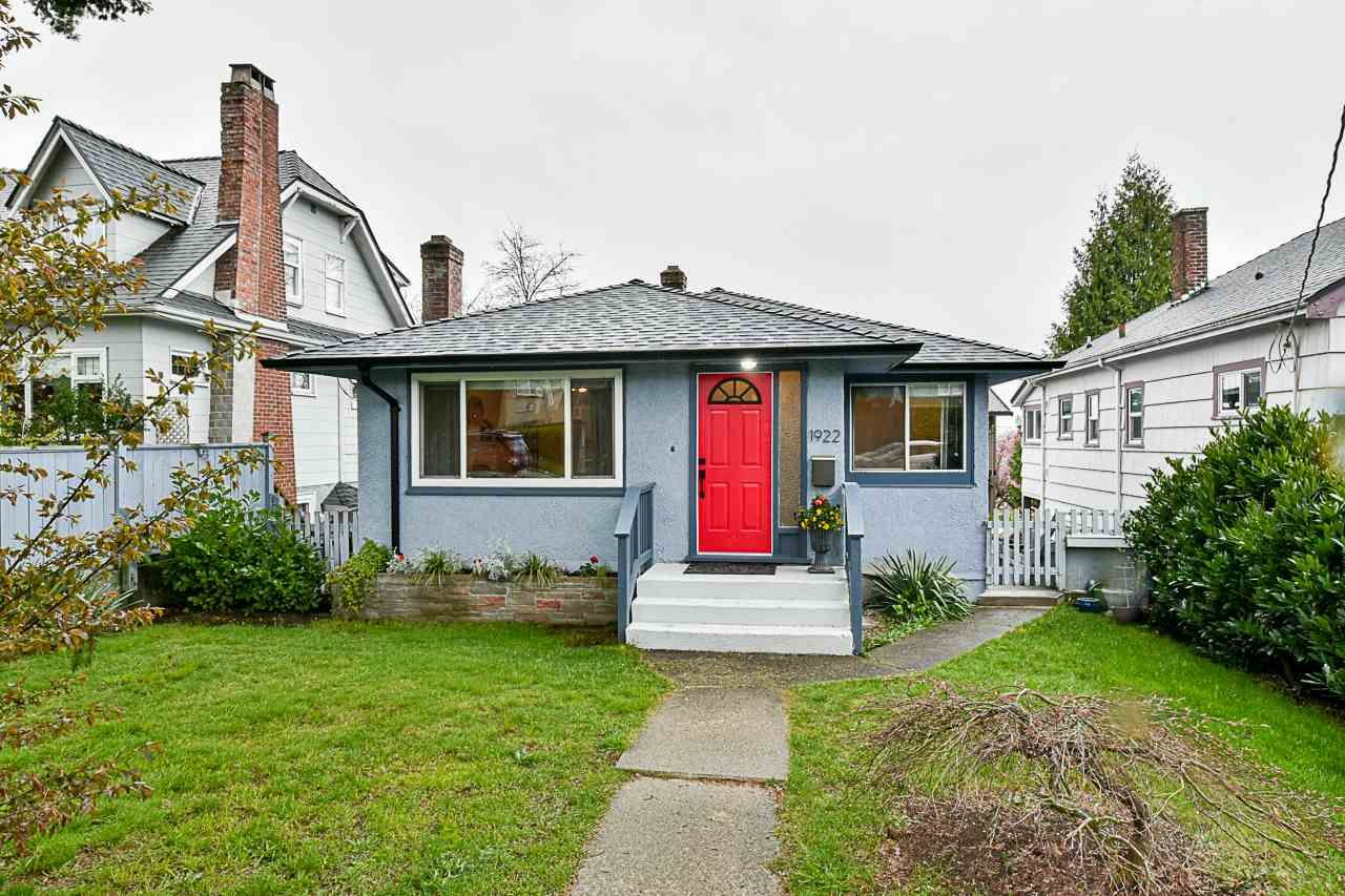 Main Photo: 1922 EIGHTH Avenue in New Westminster: West End NW House for sale : MLS®# R2565641