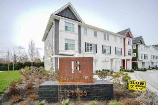 Photo 1: 39 27735 ROUNDHOUSE Drive in Abbotsford: Aberdeen Townhouse for sale : MLS®# R2543501