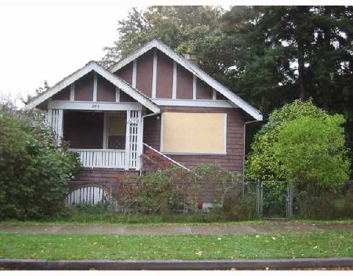 Main Photo: 3070 ST CATHERINES Street in Vancouver: Mount Pleasant VE House for sale (Vancouver East)  : MLS®# V738427