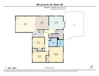 Photo 40: 180 LAROSE Drive: St. Albert House for sale : MLS®# E4262272