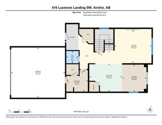 Photo 37: 616 Luxstone Landing SW: Airdrie Detached for sale : MLS®# A1075544