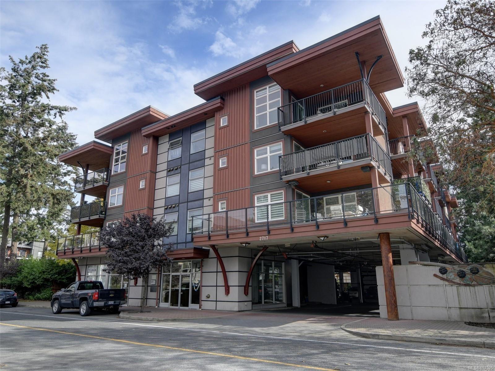 Main Photo: 305 2717 Peatt Rd in Langford: La Langford Proper Condo for sale : MLS®# 857595