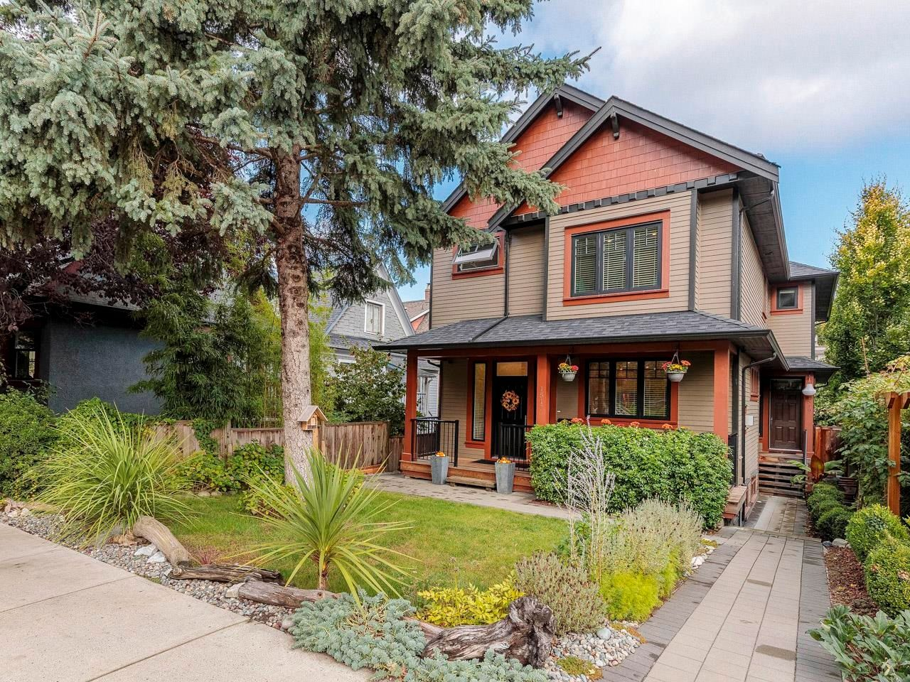 """Main Photo: 1517 E 8TH Avenue in Vancouver: Grandview Woodland 1/2 Duplex for sale in """"Grandview Woodland"""" (Vancouver East)  : MLS®# R2625142"""