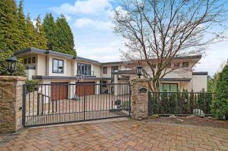 Photo 1: 941 EYREMOUNT DRIVE in West Vancouver: House for sale : MLS®# R2526810