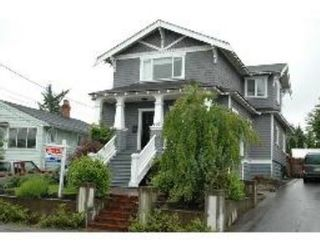 Main Photo: 222 Princess Street New Westminster: House for sale (GlenBrooke North)  : MLS®# V542472