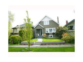 Photo 1: 3830 18TH Ave W in Vancouver West: Dunbar Home for sale ()  : MLS®# V934696