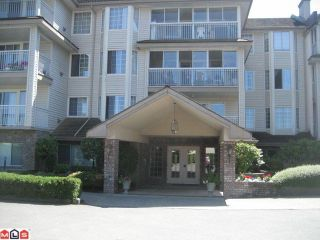 """Photo 1: 308 2491 GLADWIN Road in Abbotsford: Abbotsford West Condo for sale in """"Lakewood Gardens"""" : MLS®# F1019909"""