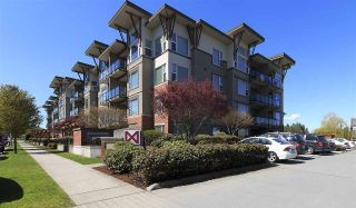 """Photo 1: 415 33539 HOLLAND Avenue in Abbotsford: Central Abbotsford Condo for sale in """"THE CROSSING"""" : MLS®# R2159342"""