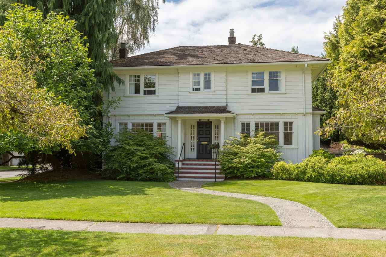 Main Photo: 6991 WILTSHIRE STREET in Vancouver: South Granville House for sale (Vancouver West)  : MLS®# R2187101