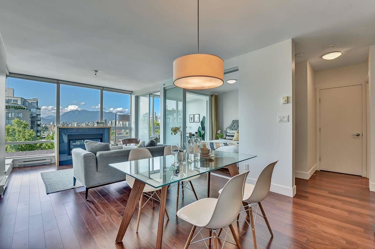 """Main Photo: 508 1675 W 8TH Avenue in Vancouver: Kitsilano Condo for sale in """"Camera by Intracorp"""" (Vancouver West)  : MLS®# R2604147"""