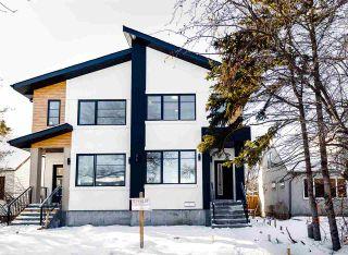 Main Photo: 7222 112 Street NW in Edmonton: Zone 15 House Half Duplex for sale : MLS®# E4228857