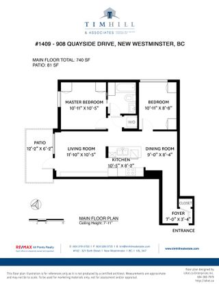 """Photo 26: 1409 908 QUAYSIDE Drive in New Westminster: Quay Condo for sale in """"Riversky 1"""" : MLS®# R2483155"""