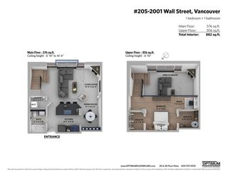 """Photo 28: 205 2001 WALL Street in Vancouver: Hastings Condo for sale in """"Cannery Row Lofts"""" (Vancouver East)  : MLS®# R2587997"""