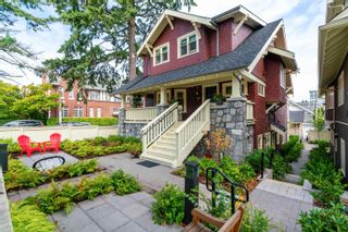 """Main Photo: 3176 BURRARD Street in Vancouver: Fairview VW Townhouse for sale in """"HERITAGE"""" (Vancouver West)  : MLS®# R2610966"""