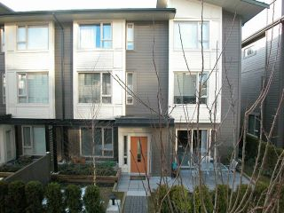 """Photo 1: 91 9229 UNIVERSITY Crescent in Burnaby: Simon Fraser Univer. Townhouse for sale in """"SERENITY"""" (Burnaby North)  : MLS®# V692765"""