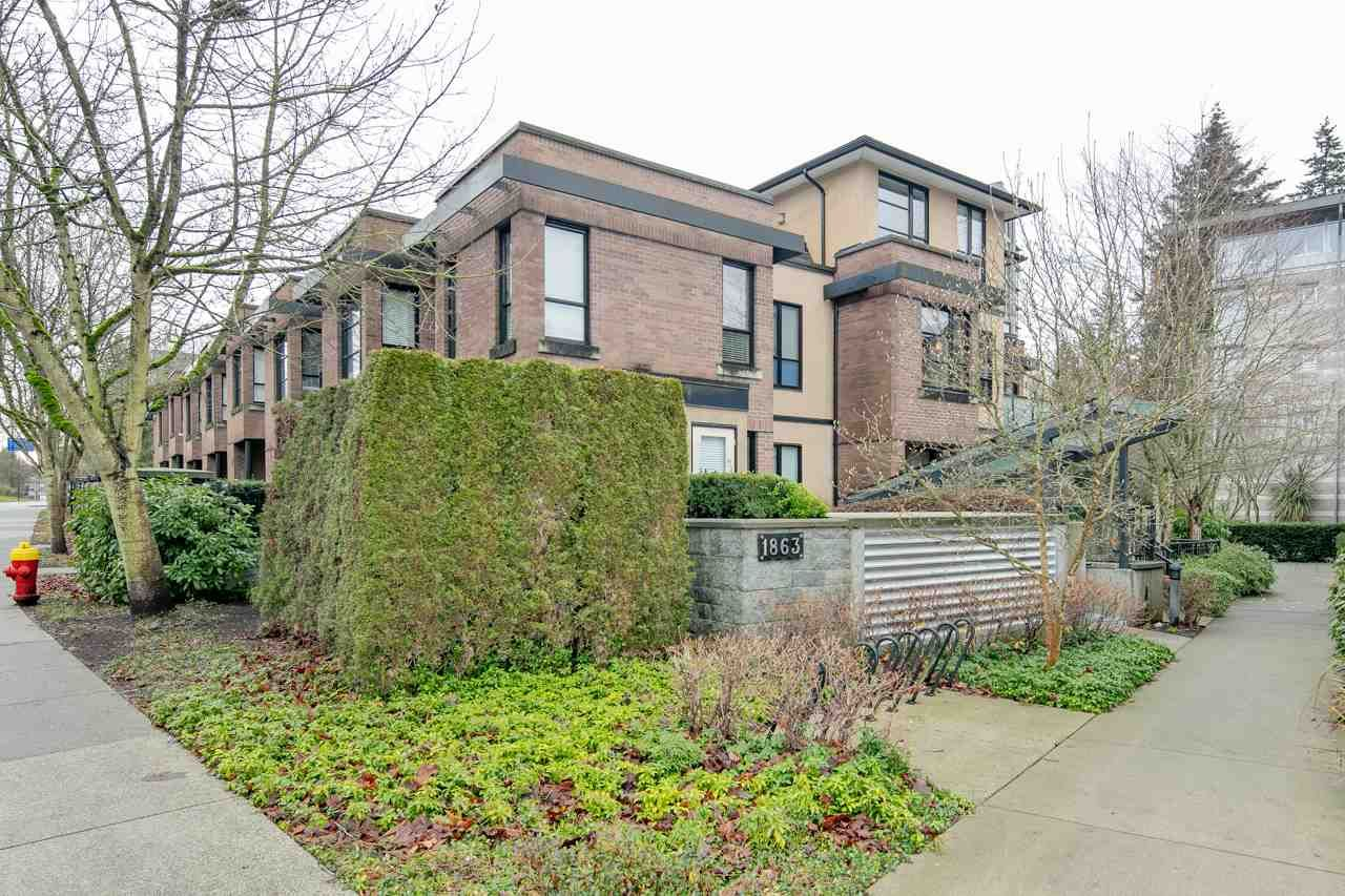 """Main Photo: 8 1863 WESBROOK Mall in Vancouver: University VW Townhouse for sale in """"ESSE"""" (Vancouver West)  : MLS®# R2329957"""