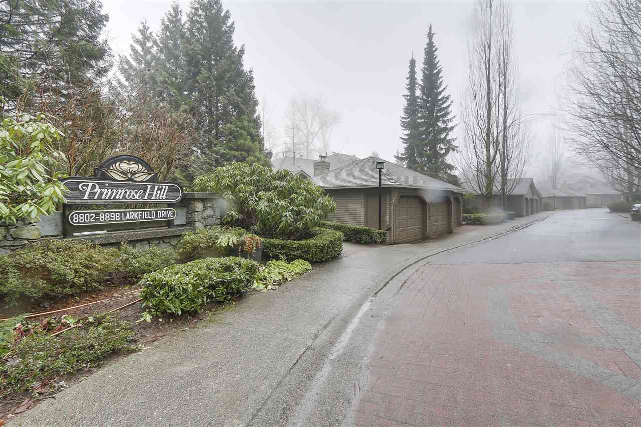 Main Photo: Map location: 8866 LARKFIELD DRIVE in Burnaby: Forest Hills BN Townhouse for sale (Burnaby North)  : MLS®# R2146317