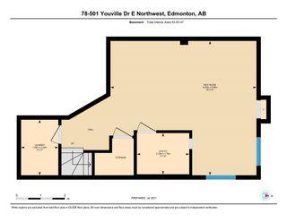 Photo 49: 78 501 Youville Drive E in Edmonton: Zone 29 House Half Duplex for sale : MLS®# E4255513