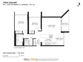 """Photo 29: 704 4200 MAYBERRY Street in Burnaby: Metrotown Condo for sale in """"TIMES SQUARE"""" (Burnaby South)  : MLS®# R2573278"""