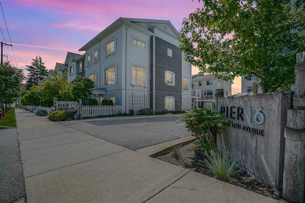 """Main Photo: 36 16228 16 Avenue in Surrey: King George Corridor Townhouse for sale in """"PIER 16"""" (South Surrey White Rock)  : MLS®# R2591498"""