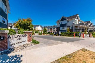 """Photo 1: 5 32633 SIMON Avenue in Abbotsford: Abbotsford West Townhouse for sale in """"Allwood Place"""" : MLS®# R2506986"""