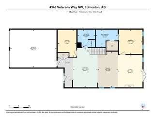 Photo 33: 4348 VETERANS Way in Edmonton: Zone 27 House Half Duplex for sale : MLS®# E4228531