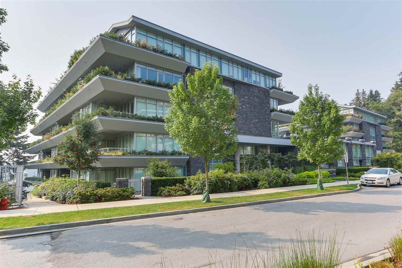 """Main Photo: 306 866 ARTHUR ERICKSON Place in West Vancouver: Park Royal Condo for sale in """"Evelyn at Forest's Edge"""" : MLS®# R2436379"""