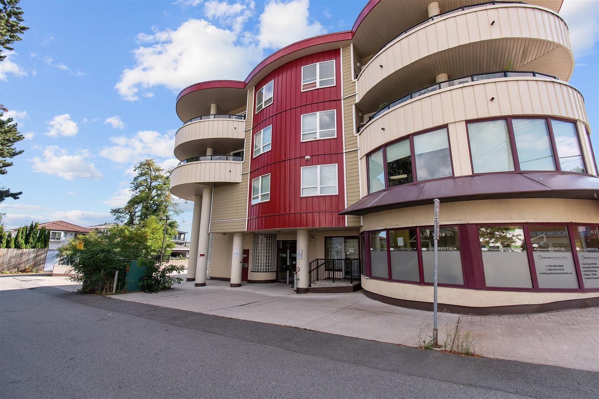 Main Photo: 309 7738 EDMONDS Street in Burnaby: East Burnaby Condo for sale (Burnaby East)  : MLS®# R2613098