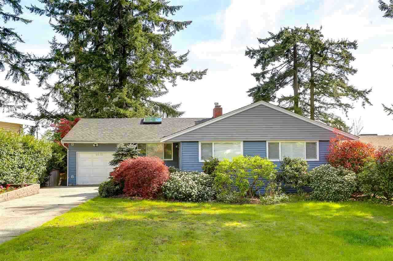 Main Photo: 4870 MCKEE Place in Burnaby: South Slope House for sale (Burnaby South)  : MLS®# R2535325