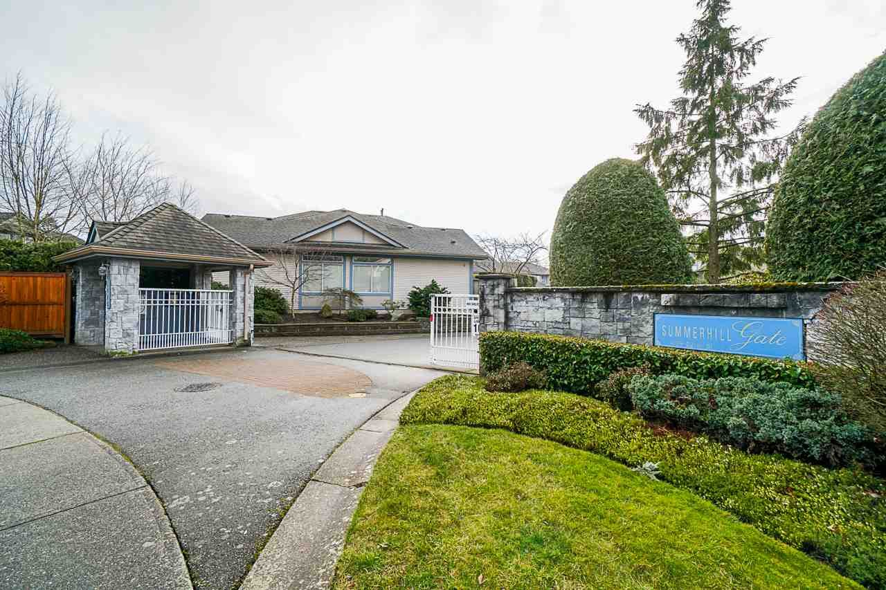 "Main Photo: 15 4725 221 Street in Langley: Murrayville Townhouse for sale in ""SUMMERHILL GATE"" : MLS®# R2533516"