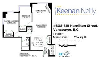 Photo 20: 808 819 HAMILTON STREET in Vancouver: Downtown VW Condo for sale (Vancouver West)  : MLS®# R2118682