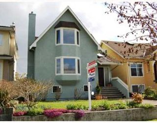 Photo 1: 328 W 23RD Avenue in Vancouver: Cambie House for sale (Vancouver West)  : MLS®# V703282