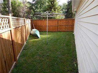Photo 20: 1393 Kildonan Drive in Winnipeg: Fraser's Grove Residential for sale (3C)  : MLS®# 1622981