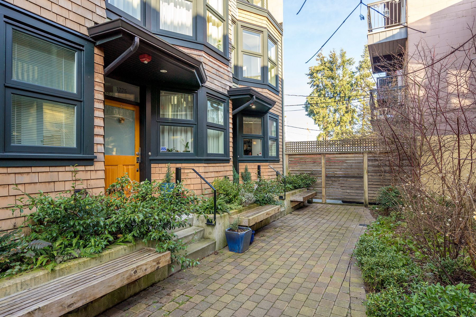 """Main Photo: 1777 E 20TH Avenue in Vancouver: Victoria VE Townhouse for sale in """"CEDAR COTTAGE Townhomes-Gow Bloc"""" (Vancouver East)  : MLS®# R2333733"""