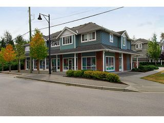 "Photo 1: 202 16718 60TH Avenue in Surrey: Cloverdale BC Townhouse for sale in ""McLellan Mews"" (Cloverdale)  : MLS®# F1400646"