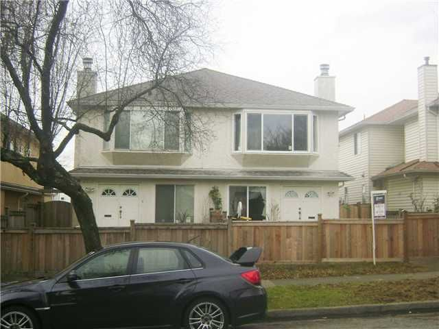 Main Photo: 8409 FRENCH Street in Vancouver: Marpole 1/2 Duplex for sale (Vancouver West)  : MLS®# V921439