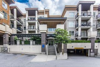 """Photo 1: 115 9655 KING GEORGE Boulevard in Surrey: Whalley Condo for sale in """"The Gruv"""" (North Surrey)  : MLS®# R2381539"""