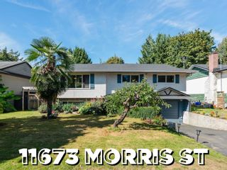 Photo 1: 11673 MORRIS Street in Maple Ridge: West Central House for sale : MLS®# R2617473