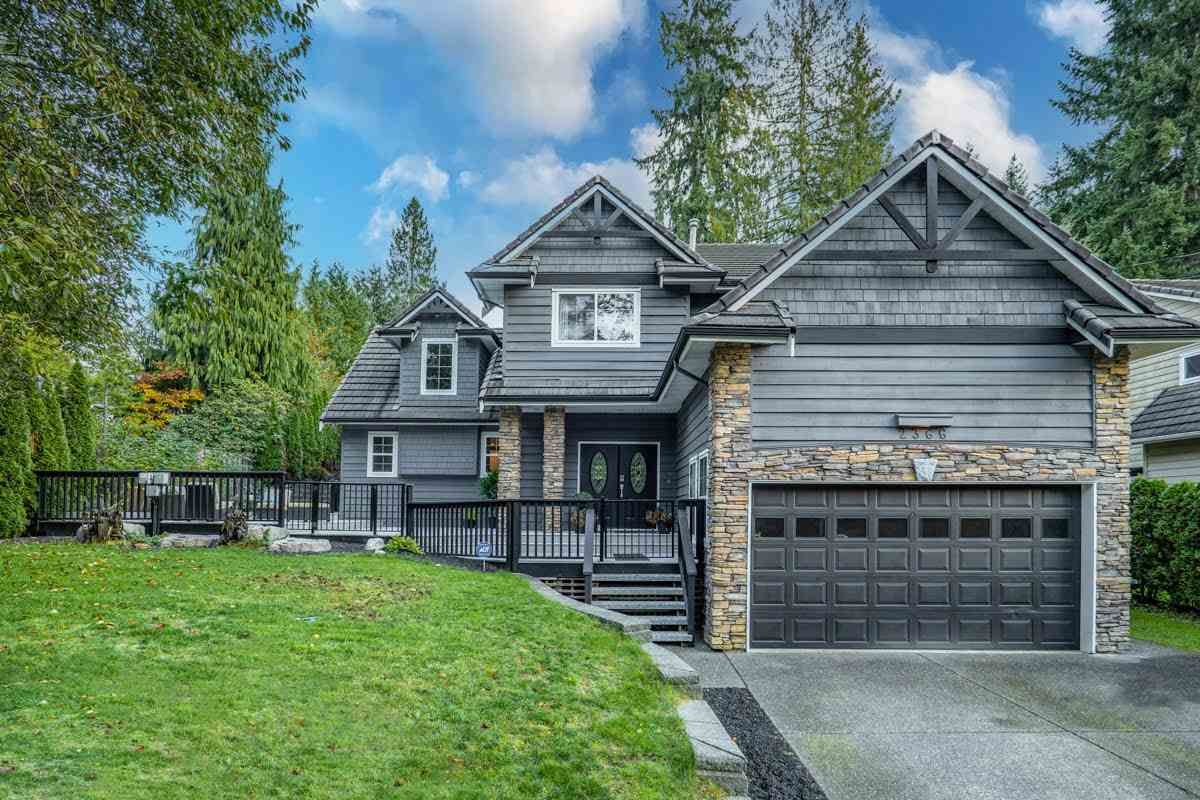 Main Photo: 2366 SUNNYSIDE Road: Anmore House for sale (Port Moody)  : MLS®# R2544936